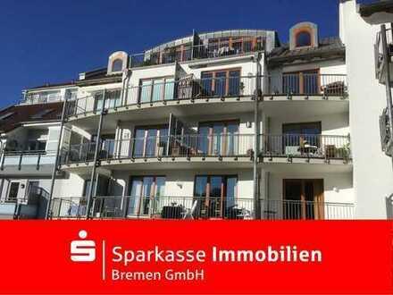 Traumhafte 3-Zimmer-Wohnung direkt am Deich der kleinen Weser!
