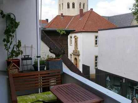 Wohnen in der Innenstadt 5 Zimmer-Wohnung mit Blick in die Grube