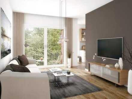 Helle 3-Zi.-Wohnung mit hochwertigen Materialien und Süd-Balkon im idyllischen Erpetal