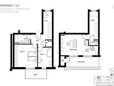 3-Zimmer-Neubauwohnung in der Holtenauer Straße im 3. Obergeschoss