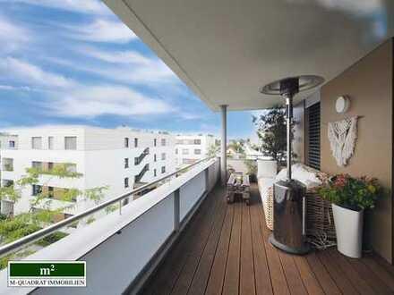 Urbane Luxus-Penthouse-Wohnung mit Terrasse für Sonnenanbeter und zwei Tiefgaragenstellplätzen
