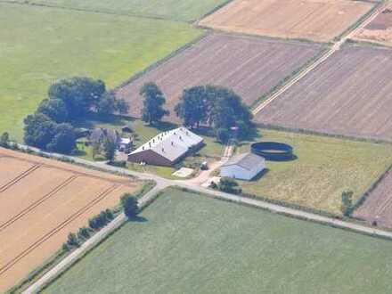 Landhaus (Hof) mit Nebengebäuden in herrlicher Alleinlage mit Wiese