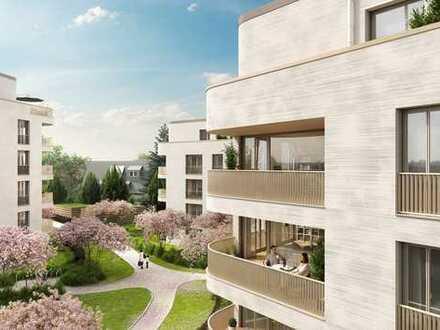 Neubau-Wohnen im Hainbrunnenpark: 4-Zimmer-Wohnung mit Terrasse und Gartenanteil!