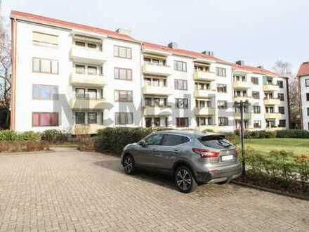 Idyllische Ruhe im Norden von Bremen: 3-Zimmer-ETW mit Südwestbalkon