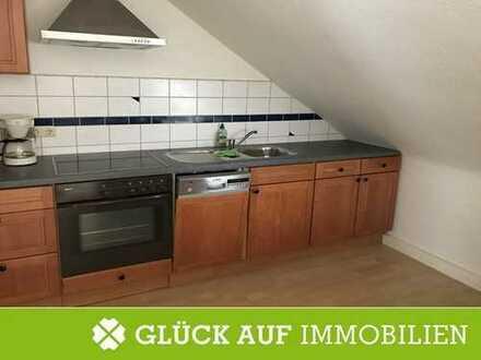 Gemütliche 2-Zimmer-Dachgeschoss-Wohnung inkl. Einbauküche in zentraler Lage von Essen-Frintrop