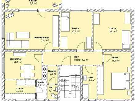 Schöne 5-Zimmer 1.OG-Wohnung in Bad Neustadt an der Saale