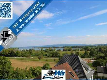 Bezugsfreie 3,5 Zimmer Wohnung mit Panoramablick auf den See!