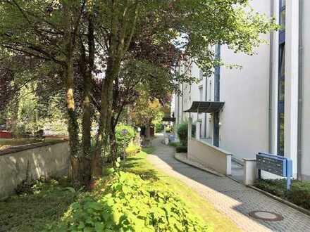 Wohnen am Mühlbach   1-Zimmer-Gartenwohnung in bester Lage