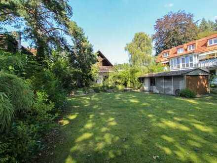 Voll erschlossen: Weitläufiges Baugrundstück in ruhiger Wohnlage nahe dem Heiligensee