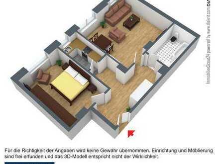Schöne 2 Raum Dachgeschoßwohnung zu vermieten