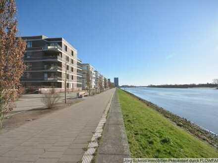 Bremen Überseestadt - moderne Wohnung mit eigenem Terrassengarten