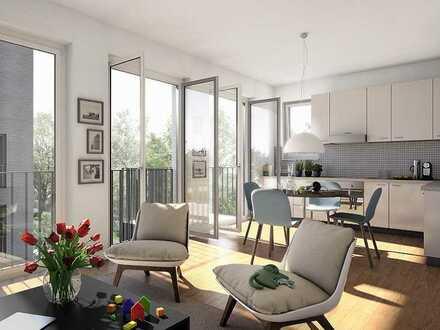 Kaufen statt mieten: Freundliche 2-Zimmer-Wohnung im 1.OG mit Balkon