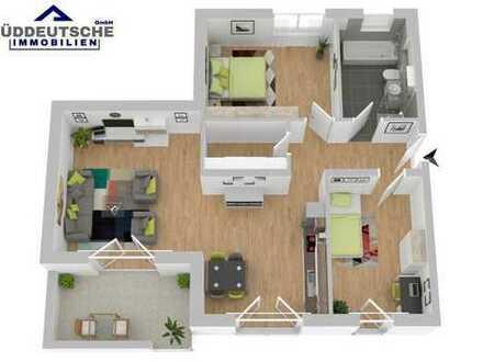 Barrierefreie EG-Wohnung mit Terrasse: Neubau in zentraler und ruhiger Lage, Massivbauweise - 1