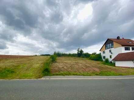 Grundstück in Südhanglage wartet auf Bebauung!