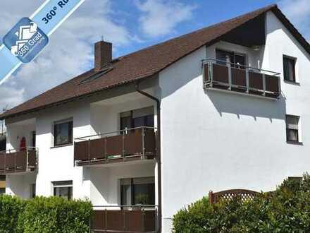 Provisionsfrei für Käufer - Gepflegtes und vermietetes Mehrfamilienhaus mit 5 Parteien in Heddesheim