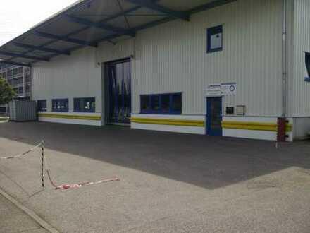 Lagerhalle / Produktionshalle / Gewerbehalle mit Freifläche nähe Audi 