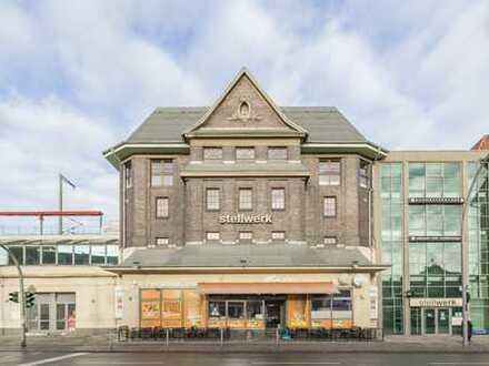 Historie und Moderne vereint: Das Stellwerk am Kranoldplatz!