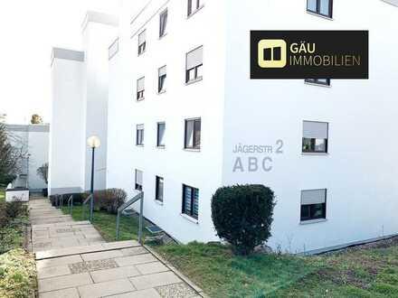 *Reserviert*Traumhafte moderne helle 3-Zimmer Wohnung mit Balkon und Blick ins Grüne.