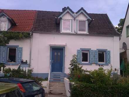 Doppelhaushälfte mit drei Zimmern, EBK, Garten in Göllheim