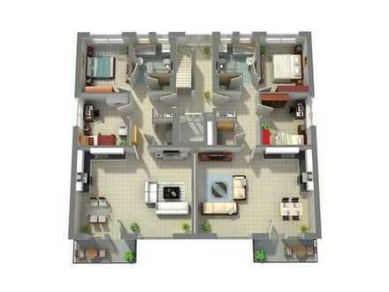 Wohnung im 1. Obergeschoss mit Balkon