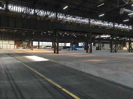 Industriehalle zur Stahllagerung auf logport I