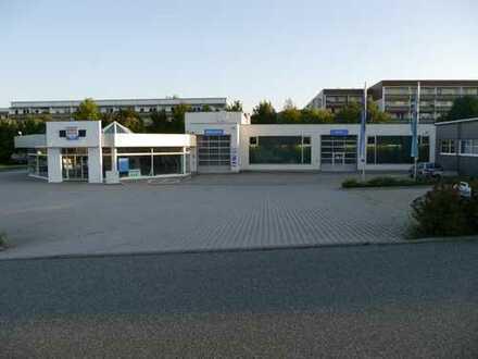 Autohaus, teilbar, mit Werkstatt und Nebengebäuden