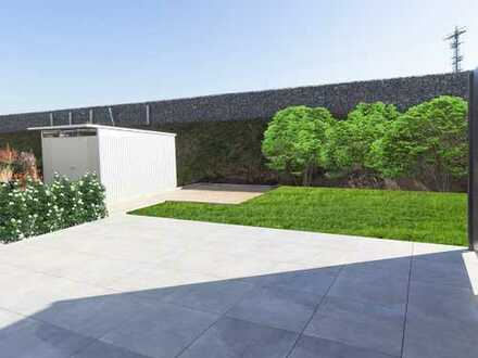 Erstbezug von Neubau. Exclusive Erdgeschoss Wohnung mit 27 m2 Terrasse