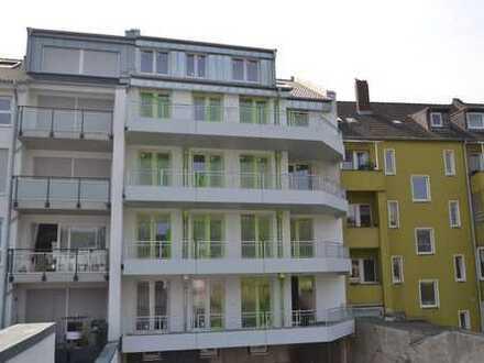 Neubau! Erstbezug! BARRIEREFREIE 3 Zi-Whg. mit Terrasse & Loggia im 3.OG zzgl Stellplatz in Wersten