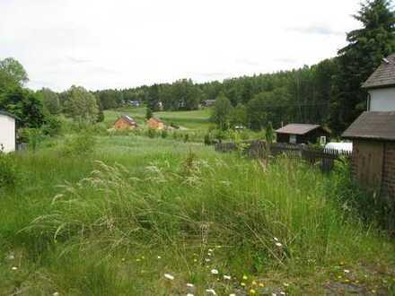 102/14 - Großes Baugrundstück mit kleinem Haus zum evtl. sanieren in Bad Brambach OT Hohendorf