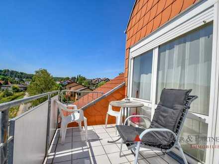 Exklusive Dachgeschosswohnung in Leimen-Gauangelloch sucht dynamisches Paar.