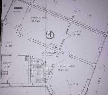 Schöne, renovierte 3-Zimmer-Hochparterre-Wohnung in Heidelberg-Handschuhsheim