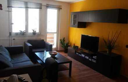 Bild_Voll möblierte Single/Pärchen 2-Zimmer-Wohnung mit Balkon und Einbauküche in Neuruppin