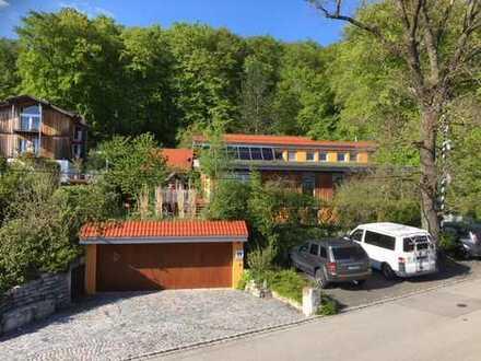 Ökologisches Einfamilienhaus mit Sicht auf Andechs und Zugspitze