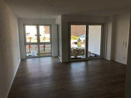 Erstbezug mit Terrasse: ansprechende 2-Zimmer-Erdgeschosswohnung in Illertissen