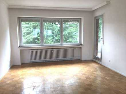 Richtig schöne Maisonette-Wohnung in MG-Dahl mit Balkon und Gartenblick