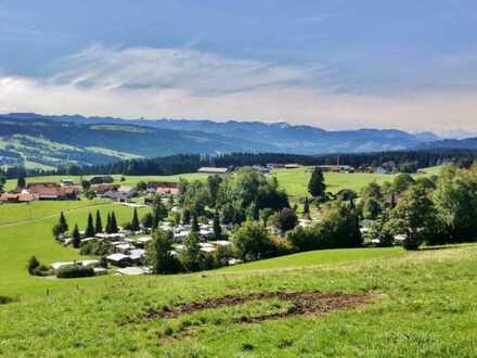 FeWo/DHH Neubau im Allgäu- Panoramablick