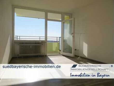 Renovierte 2-Zimmer-ETW mit Weitblick in Olching