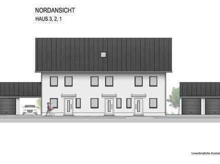 """... AIGNER - Neubau: Erstbezug Haus 1 """"KfW-Effizienzhaus 55"""" REH """"Südwest"""" mit Garage ..."""