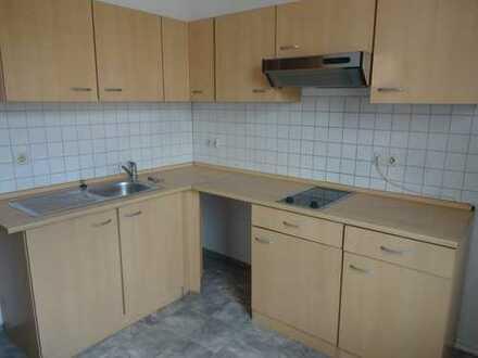 Kleine gemütliche 2-Raum mit Einbauküchenteile