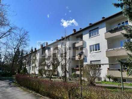 Bezugsfreie, renovierte 2-Zi.-Whg. mit Balkon in zentraler Lage von KN-Petershausen