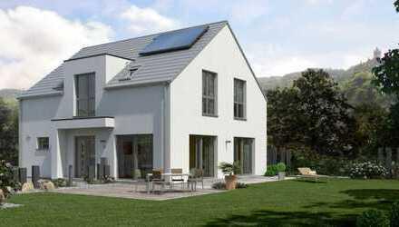 Bezauberndes Einfamilienhaus mit Vollunterkellerung und Rheinblick !