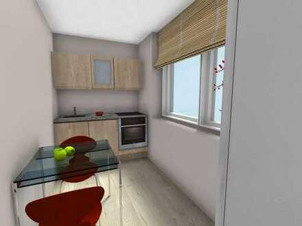 Deine 1. Wohnung mit Balkon