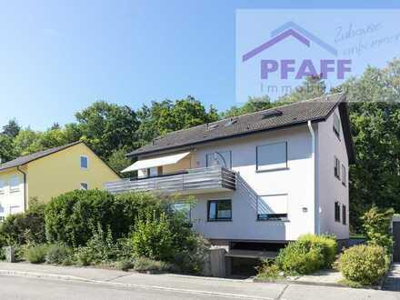 Zuhause ankommen - EG-Wohnung mit Garten und zusätzlicher 1 Zi.-Wohnung im DG in Singen-Nord, 163m²!