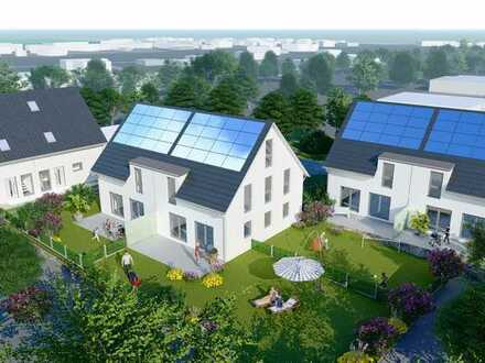 Neubau Doppelhaus KfW 40 Plus Energieeffizienz