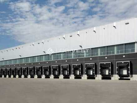 Neubau Logistikzentrum mit Gleisanschluss in Brieselang