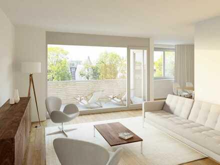 Moderne Neubau-Wohnung mit großem Wohn-/Ess-/Kochbereich