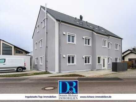 Neubau 3-Zimmer-Wohnung mit Echtholzböden, EBK, Balkon & Garage in ruhiger Lage von Etting!