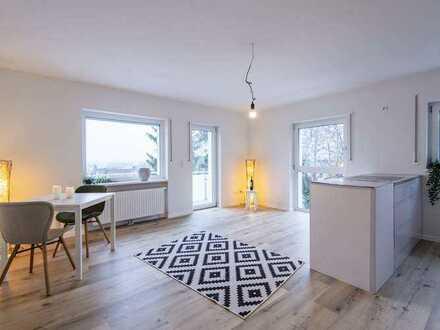 Reserviert - Erstbezug: Helle 2-Zimmer-Wohnung mit Balkon in Hersbruck