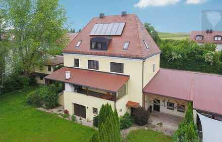 Imposantes Landhaus auf großzügigem Grundstück in Großinzemoos!