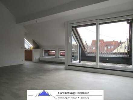 extravagante 2 1/2 Zi.- Galeriewohnung mit Einbauküche, Südloggia plus West-Balkon + Einzelgarage